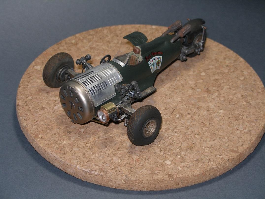 Steampunk, electroswing et douance, compatible ? Roadster18